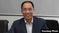 中國民主維權人士趙常青(自由微博)
