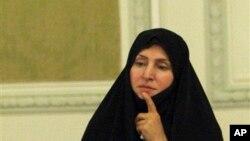 مرضیه افخم، سخنگوی وزارت امور خارجه ایران