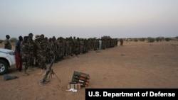 Des militaires nigériens à Diffa, 9 mars 2017.