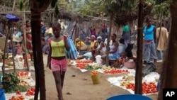 Mercado de Dombe, Cabinda