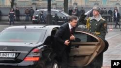 O Πρόεδρος της Ουκρανίας, Βίκτωρ Γιανούκοβιτς