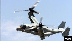Nếu đạt được thỏa thuận, Israel sẽ là nước ngoài đầu tiên được phép mua máy bay Osprey