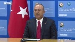 Çavuşoğlu'dan Bakü'de Dağlık Karabağ Açıklaması