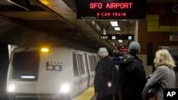 Por el momento el transporte de trenes de San Francisco conocido como BART no se ha visto interrumpido.