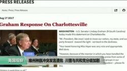 VOA连线:维州种族冲突发言遭批,川普与共和党分歧加剧