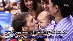 Những khoảnh khắc đáng yêu của Michael Phelps với con trai