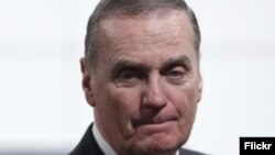 General Džejms Džons, bivši Savetnik za nacionalnu bezbednost u Obaminoj administraciji i bivši Vrhovni komandant NATO-a.