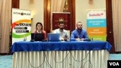 Analitičari Istinomjera: Aida Ajanović, Dalio Sijah i Damir Dajanović