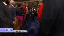 Obama defiende sus políticas ante el Congreso por última vez