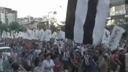 土耳其防暴警察严控塔克西姆广场
