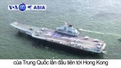 Hàng không mẫu hạm Trung Quốc tới Hong Kong