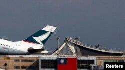 香港國泰航空。