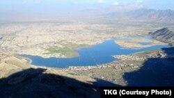 کول حشمت خان در دامنۀ تپه بالا حصار کابل