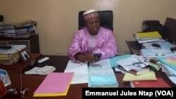 Éric Essoussé, directeur général des Élections, à Yaoundé, le 1er octobre 2018. (VOA/Emmanuel Jules Ntap)