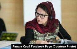 Fovziya Kufiy, Tolibon bilan muzokaralarda ishtirok etayotgan afg'on ayoli