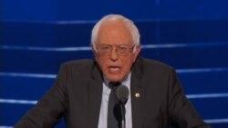 Bernie Sanders talks about the political revolution