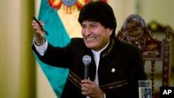 El presidente de Bolivia, Evo Morales, enfrenta un rechazo mayoritario a su reelección según la más reciente encuesta.
