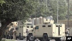 巴格達安全局勢緊張。