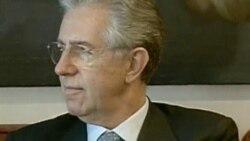 آغاز نخست وزيری ماريو مونتی