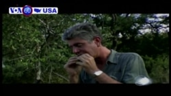 VOA60 America - Friends, Fans Stunned Over Celebrity Chef Anthony Bourdain's Death