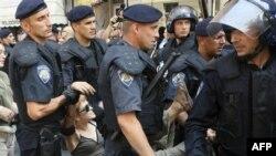 Policia kroate arreston më shumë se 100 aktivistë në kryeqytetin Zagreb