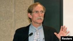 2003년 노벨화학상 수상자인 피터 아그레 미국 존스홉킨스 의대 교수. (자료사진)