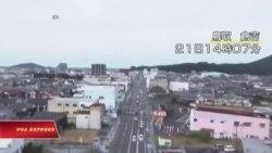 Miền tây Nhật Bản rung chuyển vì động đất