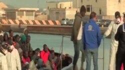 地中海船民潮又有近 200 人獲救抵達意大利