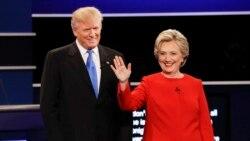 Trump ႏွင့္ Clinton ေနာက္ဆုံးအေက်ာ႔ စကားစစ္ထုိးပြဲ ဗုဒၵဟူးေန႔ က်င္းပမည္