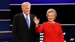Дональд Трамп и Хиллари Клинтон