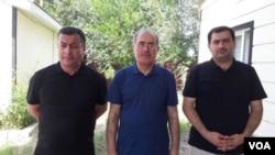 Rüfət Səfərov, Bəhruz Bayramov və Eldar Sabiroğlu