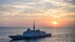 法國艦艇現身台灣西海岸外海 台國防部稱台海周邊情勢正常