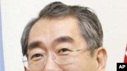 ທ່ານ Takeaki Matsumoto ທີ່ຖືກແຕ່ງຕັ້ງເປັນລັດຖະມົນຕີການ ຕ່າງປະເທດຄົນໃໝ່ຂອງຍີ່ປຸ່ນ.