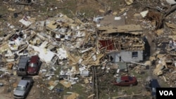 Los destrozos han sido enormes en Tuscaloosa, Alabama.