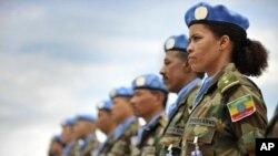 آرشیف: عساکر حافظ صلح ایتوپیایی در لایبریا