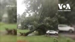 Наслідки урагану першої категорії «Ісайас» у США. Відео