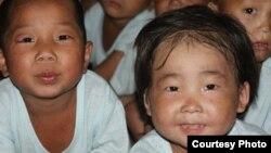 북한 황해남도 해주 고아원의 어린이들. 미션 이스트 제공. (자료사진)