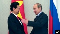 Thủ tướng Việt Nam Nguyễn Tấn Dũng và Tổng thống Nga Vladimir Putin.