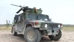 Воени вежби на американски трупи на Криволак