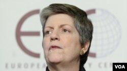 Sekretè Sekirite Etazini an Janet Napolitano (foto achiv)