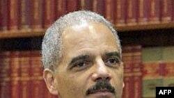 Adalet Bakanı Eric Holder