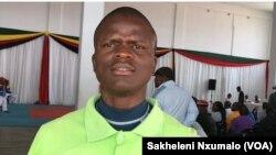 Vusumuzi Ncube umqondisi weqembu lomdlalo weTaekwondo ele Panthers Taekwondo Academy