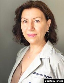 Dr Aleksandra Popović radi u bolnici Luteran Dženeral u Čikagu.