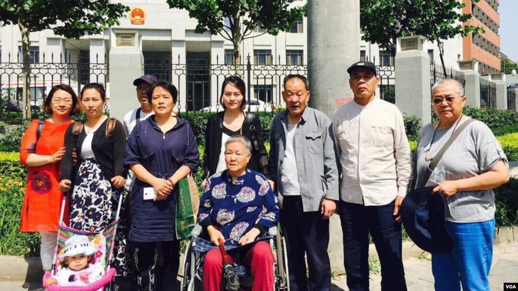 王全璋多位家人周五前往最高检控告(网络图片)