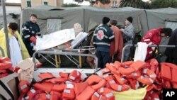 豪华邮轮在意大利搁浅70人失踪