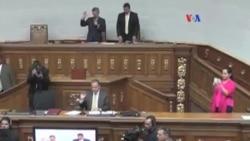 Venezuela: parlamento aprueba acuerdo de diálogo y paz