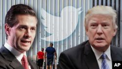 El presidente de EE.UU., Donald Trump y su homólogo mexicano, Enrique Peña Nieto, hablaron por teléfono la semana pasada.