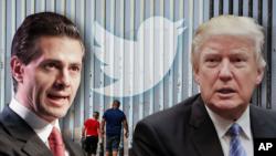 Trump y Peña Nieto se reunieron antes de la elección presidencial, el 31 de agosto de 2016, en México.
