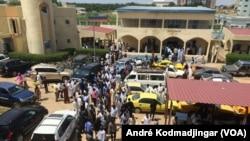 Les locaux du Palais de justice de N'Djamena, Tchad, le 4 octobre 2019. (VOA/André Kodmadjingar)