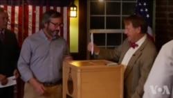 美国大选日零点一到 首张选票已投出